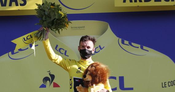 Belg Wout van Aert z ekipy Jumbo-Visma triumfował na piątym etapie wyścigu kolarskiego Tour de France, długości 183 km z Gap do Privas. Prowadzenie objął Brytyjczyk Adam Yates (Mitchelton-Scott) w związku z karą nałożoną na Francuza Juliana Alaphilippe'a.
