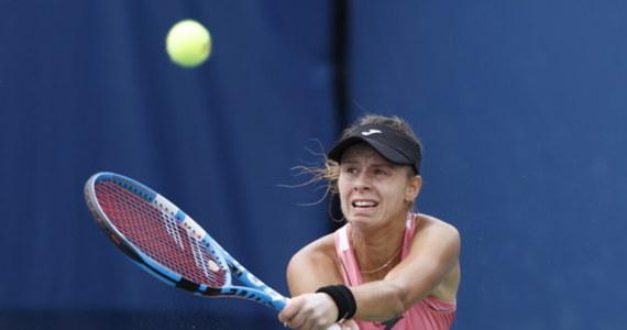 """Magda Linette żegna się z US Open: w trzeciej rundzie wielkoszlemowego turnieju rozstawiona z """"24"""" Polka przegrała z Estonką Anett Kontaveit, rozstawioną z numerem czternastym, 3:6, 2:6. Dla 28-letniej poznanianki był to pierwszy występ w trzeciej rundzie imprezy na nowojorskich kortach Flushing Meadows."""