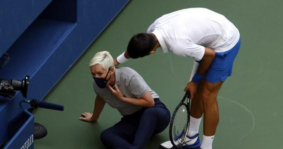 Dyskwalifikacja w wielkoszlemowym turnieju tenisowym US Open kosztowała Serba Novaka Djokovica łącznie 267,5 tys. dolarów.