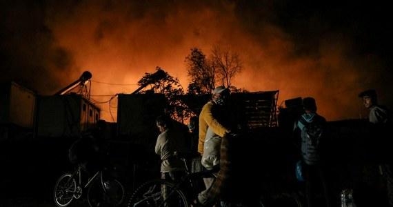 W środę nad ranem wybuchł pożar w przepełnionym obozie dla uchodźców Moria na greckiej wyspie Lesbos - poinformowali strażacy. Wszystkich udało się ewakuować.