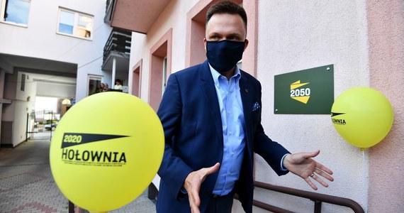 """Wbrew temu, co się o mnie mówi, nie założyłem """"spółdzielni kłusowniczej"""" – powiedział w czwartek w Kielcach lider ruchu Polska 2050 Szymon Hołownia, komentując fakt przystąpienia do stowarzyszenia posłanki Hanny Gill-Piątek."""