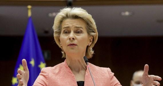 """""""Komisja Europejska proponuje zwiększenie celu redukcji emisji gazów cieplarnianych do 2030 r. z 40 do co najmniej 55 proc. w odniesieniu do poziomu z 1990 r."""" - poinformowała w Parlamencie Europejskim szefowa Komisji Europejskiej Ursula von der Leyen."""