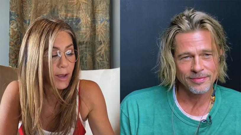"""Jennifer Aniston i Brad Pitt wzięli udział w czytaniu scenariusza filmu """"Beztroskie lata w Ridgemont High"""". Transmitowane na Facebooku godzinne wydarzenie, którego celem było wsparcie charytatywnej organizacji Seana Penna CORE, zajmującej się pomocą społecznościom w czasie pandemii koronawirusa, było pierwszym wspólnym występem Aniston i Pitta od czasu ich rozwodu 15 lat temu."""