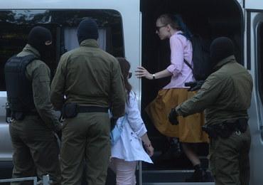 Białoruś: Podczas protestu kobiet zatrzymano dziennikarki