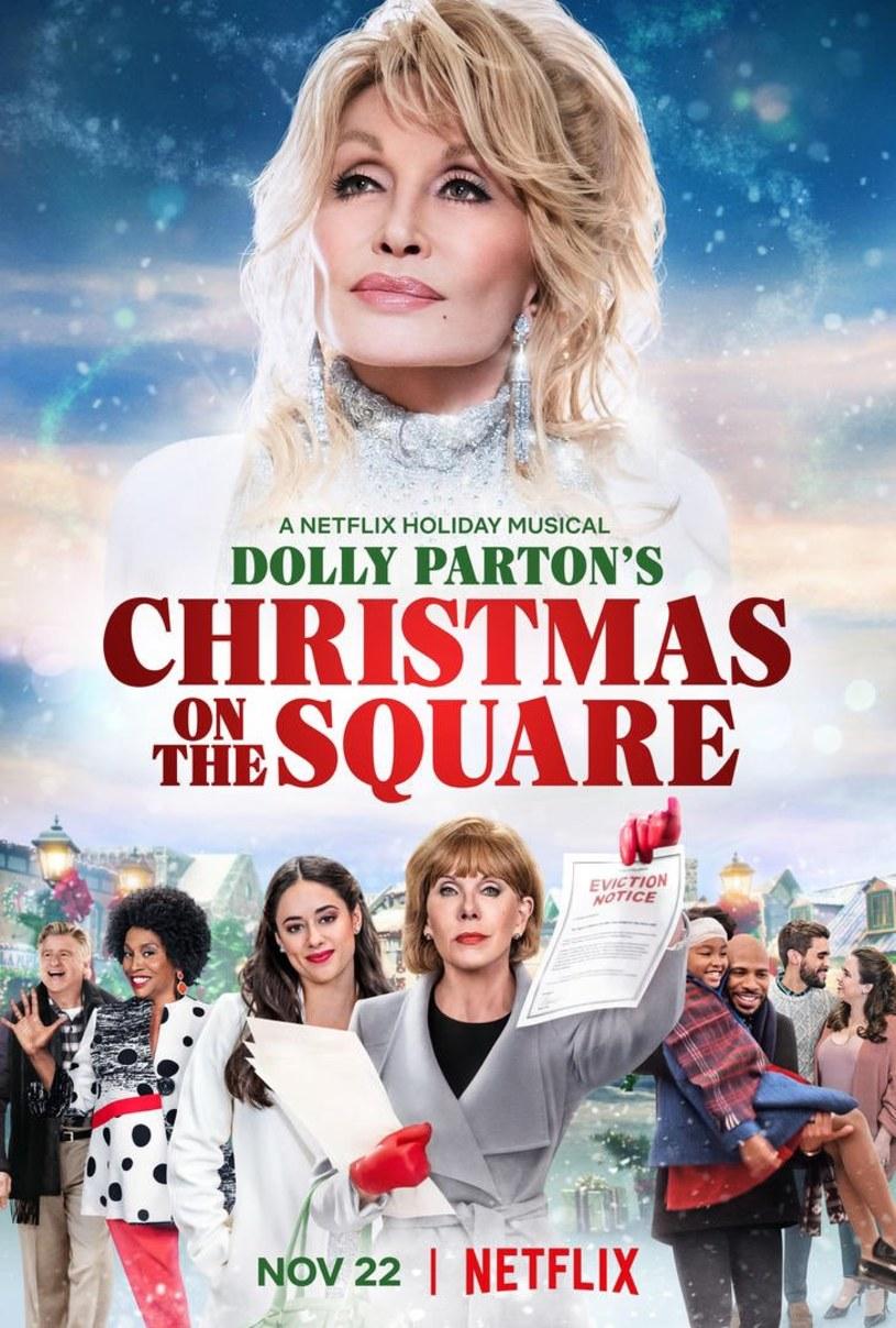 """Zaczęła się jesień, a to oznacza, że będzie się pojawiać coraz więcej filmów ze świętami Bożego Narodzenia w roli tle. Do polskich """"Listów do M. 4"""" (premiera 4 listopada) oraz drugiej części """"Kroniki świątecznej"""" (25 listopada) dołączy wyprodukowany przez Dolly Parton musical """"Christmas on the Square"""", w którym gwiazda muzyki country zagra też jedną z głównych ról. Film pojawi się na platformie streamingowej Netflix 22 listopada."""