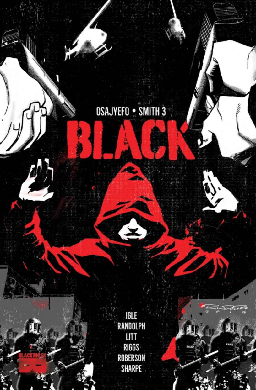 """Wkrótce ekranizacji doczeka się komiks """"Black"""" autorstwa Kwanzy Osajyefy i Tima Smitha 3. To opowieści osadzona w świecie, w którym jedynie ludzie czarnoskórzy mają niezwykłe moce."""