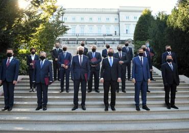 Zaprzysiężenie nowego rządu. Oto skład gabinetu Mateusza Morawieckiego