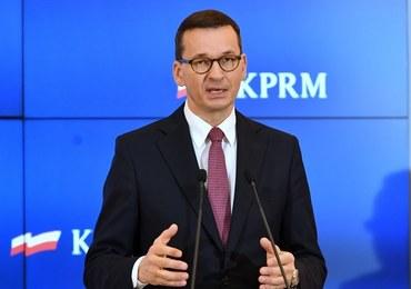 Morawiecki: Apeluję do osób zaprzeczających istnieniu Covid-19 - nie róbcie tego