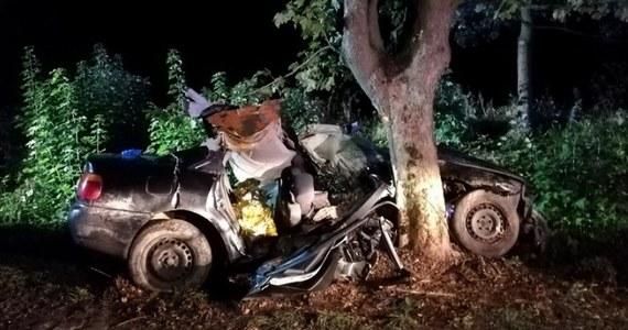 W miejscowości Wielewo pod Braniewem (warmińsko-mazurskie) doszło w nocy do wypadku - w drzewo uderzyło auto, którym podróżowała młodzież w wieku 13-20 lat. Pasażerowie auta trafili do szpitala, 18-latek zmarł w szpitalu.