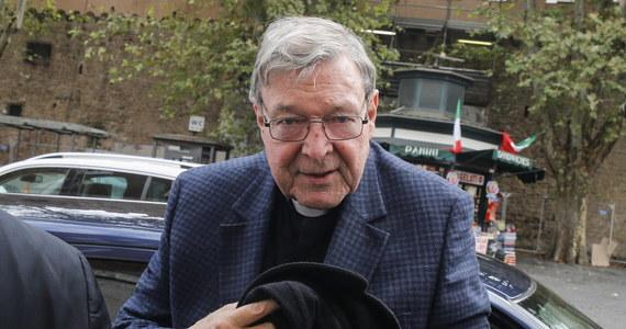 Papież Franciszek przyjął na audiencji kardynała George'a Pella, oczyszczonego przez sąd w Australii z zarzutu pedofilii i zwolnionego po roku z więzienia. To ich pierwsze spotkanie od zakończenia tej sprawy sądowej.