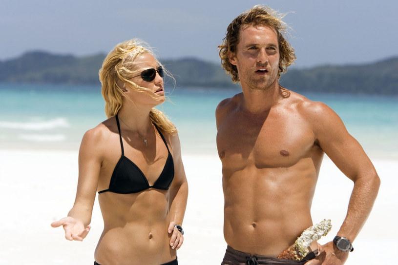 """Matthew McConaughey, laureat Oscara za rolę w filmie """"Witaj w klubie"""", spotkał się ostatnio z krytyką ze strony Kate Hudson. Aktorka powiedziała, że w scenie pocałunku na planie jednego z filmów hollywoodzki gwiazdor ją... obsmarkał."""