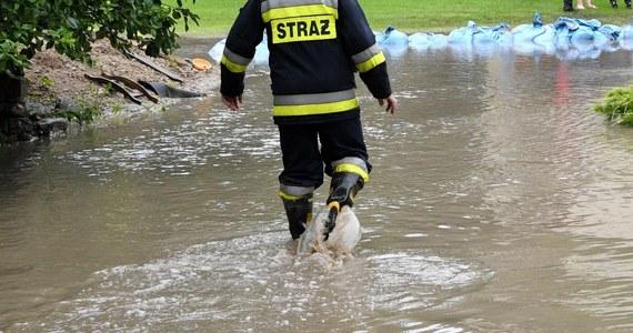 W związku z ulewami, które od kilku dni szaleją na południu Polski, w kilku miejscach przekroczone zostały stany alarmowe. Rzeki wylały i zalały niektóre posesje.