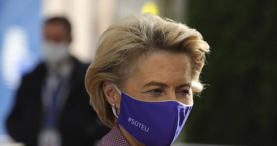 Przewodnicząca Komisji Europejskiej Ursula von der Leyen opuściła szczyt Rady Europejskiej po tym, jak dowiedziała się, że miała kontakt z osobą zakażoną koronawirusem. Udała się na kwarantannę, choć jak podkreśliła - w jej przypadku test dał wynik negatywny.