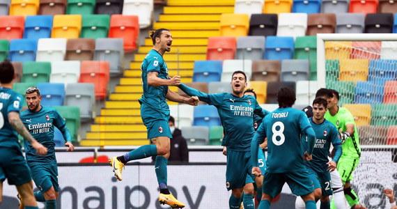 Prowadzący w tabeli AC Milan pokonał na wyjeździe Udinese 2:1 w 6. kolejce włoskiej ekstraklasy piłkarskiej. Bohaterem spotkania był Zlatan Ibrahimovic, który asystował przy pierwszym golu gości i zdobył drugiego efektowną przewrotką.