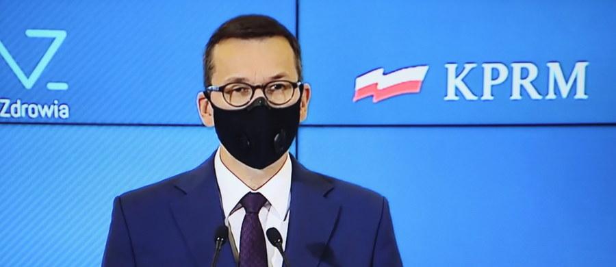 Premier Mateusz Morawiecki ogłosił nowe ograniczenia koronawirusowe. Będą one obowiązywać od soboty do 29 listopada.