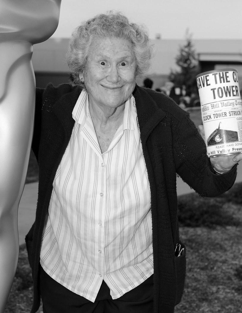 """Nie żyje aktorka Elsa Raven. Znana z roli w """"Powrocie do przyszłości"""" artystka miała 91 lat."""