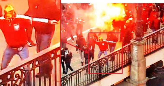 Stołeczna policja opublikowała w czwartek zdjęcia osób, które mogą mieć związek z podpaleniem mieszkania, podczas Marszu Niepodległości.