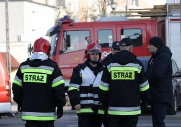 Pożar w Mysłowicach: W budynku strażacy znaleźli butle z gazem