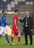 Włochy - Polska 2-0 w Lidze Narodów. Bąk: Byłbym zaskoczony dymisją Brzęczka