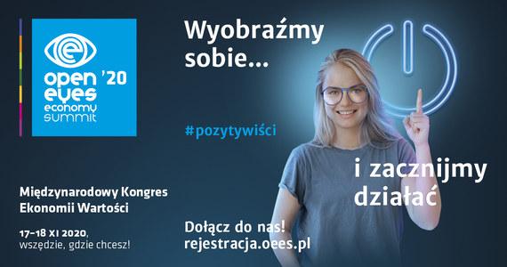 Dziś rusza piąta edycja Open Eyes Economy Summit - Międzynarodowego Kongresu Ekonomii Wartości, który co roku gromadzi w Krakowie głośne nazwiska: naukowców, aktywistów, artystów, aby rozmawiać o zrównoważonym rozwoju oraz wartościach w biznesie. Mamy dla Was zaproszenia na spotkania online w ramach OEES: sprawdźcie, jak je otrzymać. Wybrane sesje będziemy także transmitować na RMF24.