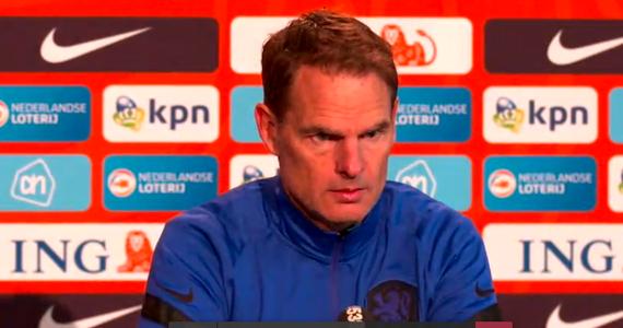 Polska - Holandia. Frank de Boer: Chcemy wygrać, być może Włochy się potkną. Bez Lewandowskiego też będzie ciężko - Sport w INTERIA.PL