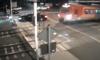 Puszczykowo: Samochód utknął na przejeździe kolejowym