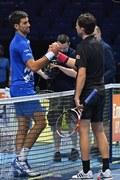 ATP Finals. Thiem pierwszym finalistą