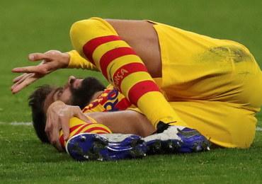Gerard Pique doznał kontuzji kolana