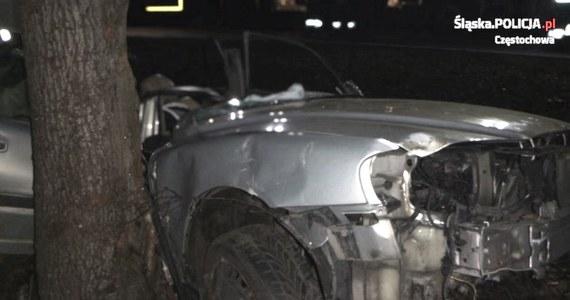 Jedna osoba zginęła, a dwie zostały ranne po uderzeniu w przydrożne drzewo samochodu na drodze krajowej nr 46 między Częstochową a Szczekocinami. Według policji, śmiertelną ofiarą wypadku jest dwuletnie dziecko.