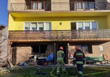 Zginęło dwóch niepełnosprawnych mężczyzn. Tragiczny pożar w Myślenicach