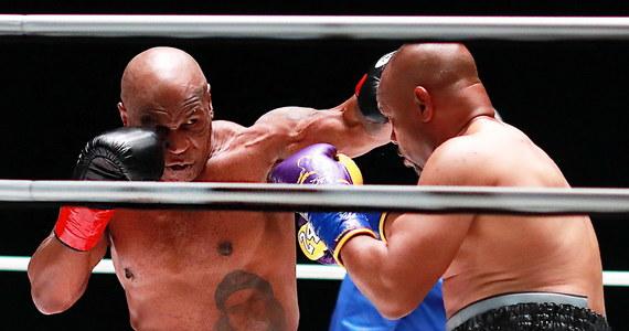 54-letni Mike Tyson i 51-letni Roy Jones Junior skrzyżowali rękawice: pokazowy pojedynek dwóch legend boksu w Los Angeles zakończył się remisem. Byli mistrzowie świata walczyli przez osiem dwuminutowych rund, a dochód z wydarzenia przeznaczony zostanie na cele charytatywne.