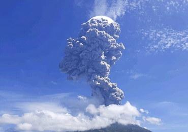 Wybuch wulkanu w Indonezji. Ewakuowano kilka tys. ludzi