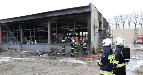 Do dużego pożaru zakładu stolarskiego doszło w Głuszynie niedaleko Namysłowa na Opolszczyźnie. Ogień pojawił się tam w nocy. Trzeba było ewakuować lokatorów pobliskiego domu.