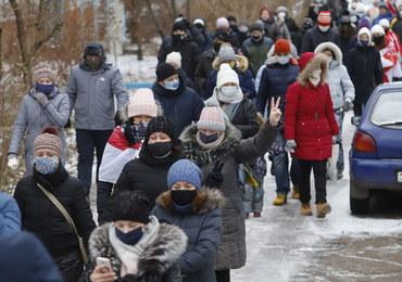 Kolejne protesty na Białorusi. Zatrzymano ponad 300 osób