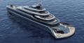Indah – koncept luksusowego jachtu z własnym klubem plażowym