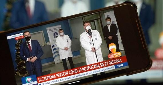 """Rząd zamierza przeznaczyć do miliarda złotych na """"tarczę regionalną"""" dla regionów i samorządów. Tych, które są i będą najbardziej dotknięte przez pandemię i restrykcje z niej wynikające - zapowiedział premier Mateusz Morawiecki."""