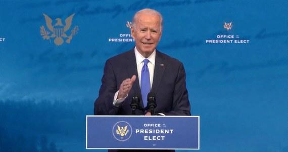 Liczymy na współpracę z Panem w mierzeniu się z problemami, które stoją przed naszymi krajami i narodami - napisał prezydent-elekt USA Joe Biden liście skierowanym do prezydenta Andrzeja Dudy.