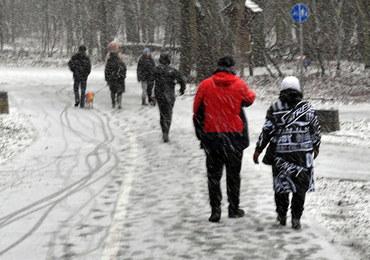 Śnieg i marznące opady. Ostrzeżenie IMGW