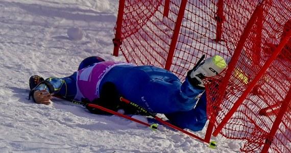 Amerykanin Tommy Ford miał poważnie wyglądający wypadek w pierwszym przejeździe slalomu giganta alpejskiego Pucharu Świata w szwajcarskim Adelboden. 31-letni narciarz na ostatnich metrach przewrócił się i - jak podawały zagraniczne agencje - stracił przytomność.