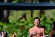 Simon Cowell wraca do formy na Barbadosie