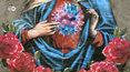 Matka Boska w gazowej masce, czyli graficiarze i koronawirus