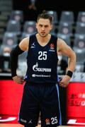 Euroliga koszykarzy. Dobry mecz Ponitki, ale porażka Zenita z Realem 71:75