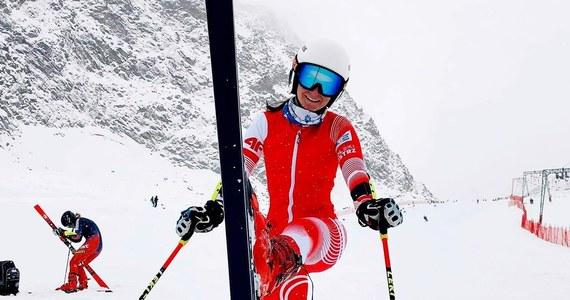 Maryna Gąsienica-Daniel zajęła 10. miejsce w slalomie gigancie alpejskiego Pucharu Świata w Kranjskiej Gorze. Polka uzyskała czas 2.15,39 i do triumfatorki straciła 3,49 s. Wygrała Wloszka Marta Bassino. Dopiero szósta była utytułowana Amerykanka Mikaela Shiffrin.