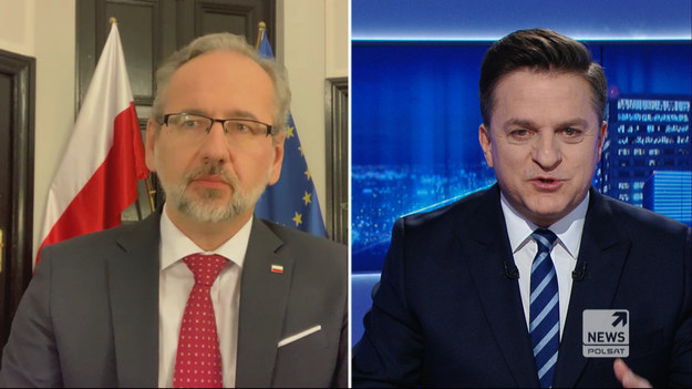 """Adam Niedzielski był """"Gościem Wydarzeń"""" Polsat News. Minister Zdrowia przypomniał, że poprzedni czas uczy, iż ci, którzy nadmiernie szybko podejmowali decyzje o luzowaniu, z liderów walki z pandemią stawali się liderami zachorowań.   Niedzielski wymienił w tym gronie m.in. Czechy i Słowację.  Dopytywany, czy od 1 lutego jest szansa w luzowaniu obostrzeń, odparł: - Oczywiście, że jest, jak najbardziej, patrząc na to, co się dzieje z dzienną liczbą zachorowań w Polsce, która systematycznie maleje albo przynajmniej stabilizuje się. Niestety martwi nas cały czas duża liczba zgonów, bo wydaje się, że ona jest tak naprawdę jednym z kluczowych argumentów, żeby nadal zastanawiać się nad tym, czy restrykcje muszą być luzowane - dodał."""