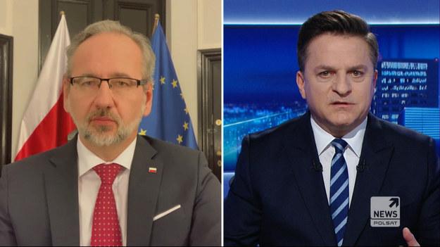 """Adam Niedzielski był """"Gościem Wydarzeń"""" Polsat News. Minister zdrowia oceniał, że hipoteza, że to """"lockdown zabija"""", w kontekście większej liczby zgonów w ubiegłym roku, jest nadużyciem."""