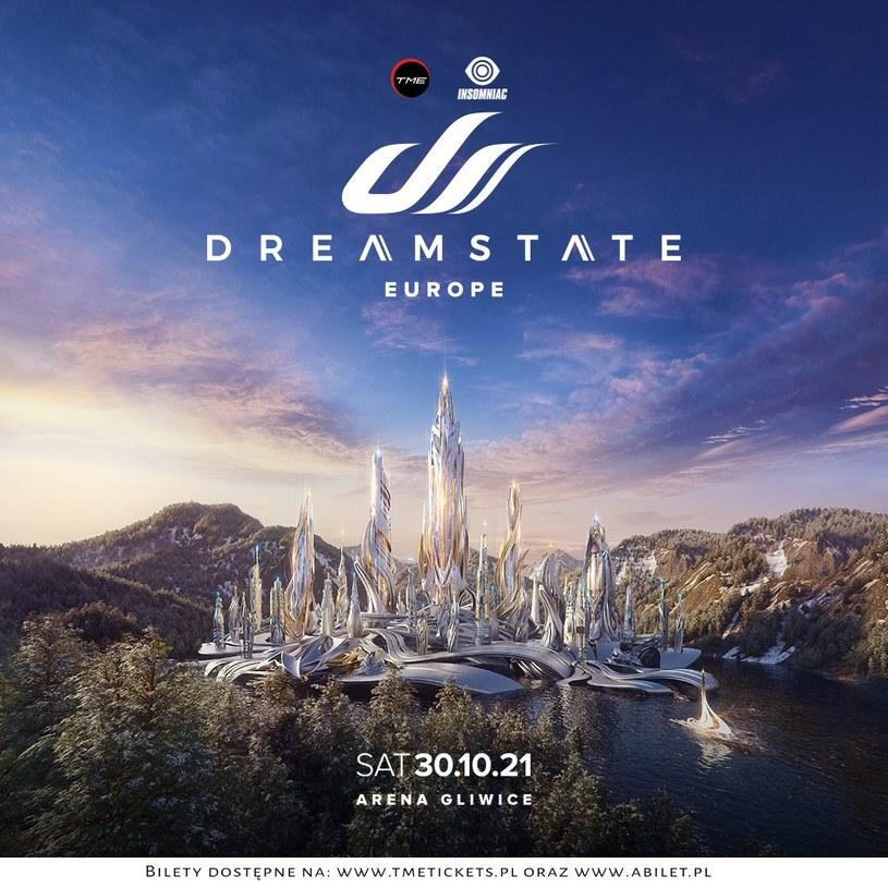 Druga polska odsłona Dreamstate Europe - jednego z największych trance'owych festiwali na świecie została przełożona z 10 kwietnia na 30 października. Impreza odbędzie się w Arenie Gliwice.