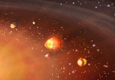 Układ Słoneczny powstał w dwóch etapach. Najnowsza hipoteza naukowców