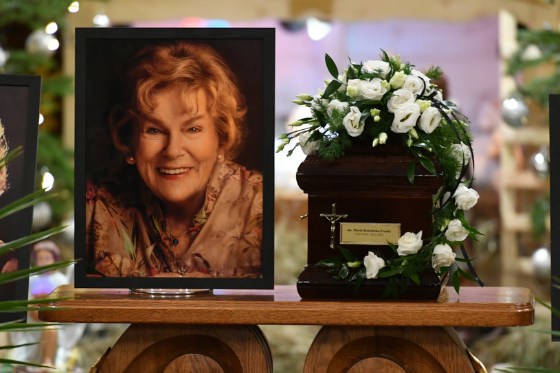 Zakończyły się uroczystości pogrzebowe Marii Koterbskiej, polskiej królowej swingu.