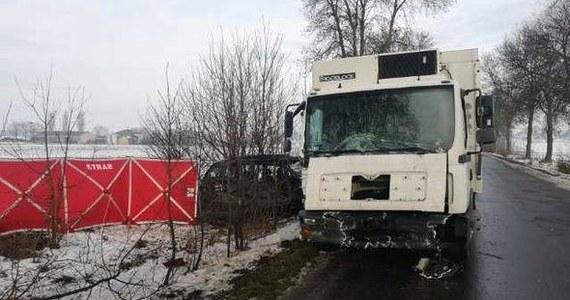 Dwoje dzieci w wieku 8 i 15 lat zginęło w wypadku w Ostromęczynie na Mazowszu. Auto osobowe zderzyło się tam z ciężarówką. Trzy ranne osoby trafiły do szpitala. Samochodem jechała 41-letnia matka z czworgiem dzieci.