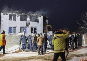 Tragiczny pożar domu opieki w Charkowie. Ofiary to osoby w wieku 71-91 lat